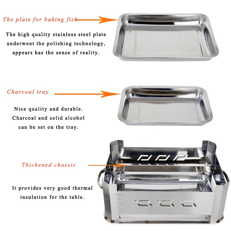 Insulated food warmer casserole buffet serving dishes for fish roast