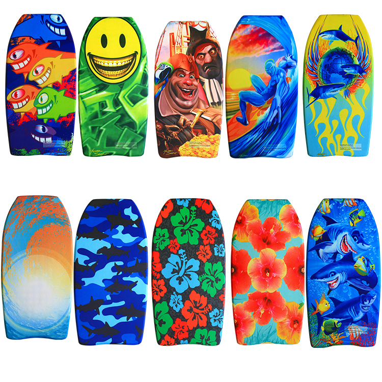China manufacturer design your own Eps Bodyboard Slick Body Board bodyboard/different types of bodyboards