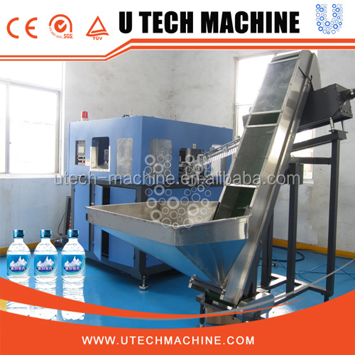 full automatic pet single stage stretch blow moulding machine