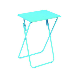 Metal Folding Table With Wooden Top