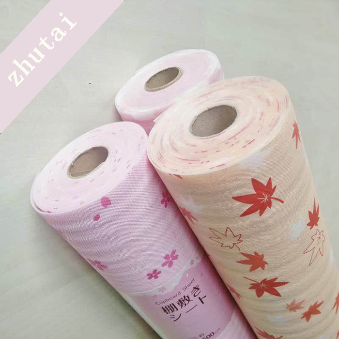 Sakura Maple leaf scented drawer liner foam shelf liner for Japan