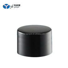 China factory Low Price Recyclable lids printed caps black screw caps for bottles