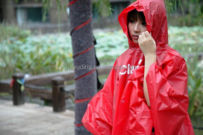Eva Pvc Rainwear Raincoat Rain Cape Rain For Traveling