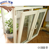 UPVC frame pvc Double Hung windows with top hinges