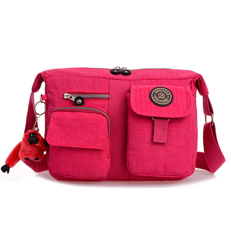 Get Quotations · Designer Candy Color Small Women Shoulder Bags Casual  Travel Lady Crossbody Bags For Women Monkey Nylon ad18e6932a11c