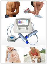 New shockwave therapy machine for Quadriceps tendon / patella tendinopathy(double end)