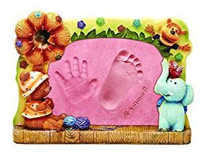 Baby baby hand foot feet inkpad inkpad full moon birthday gift souvenir