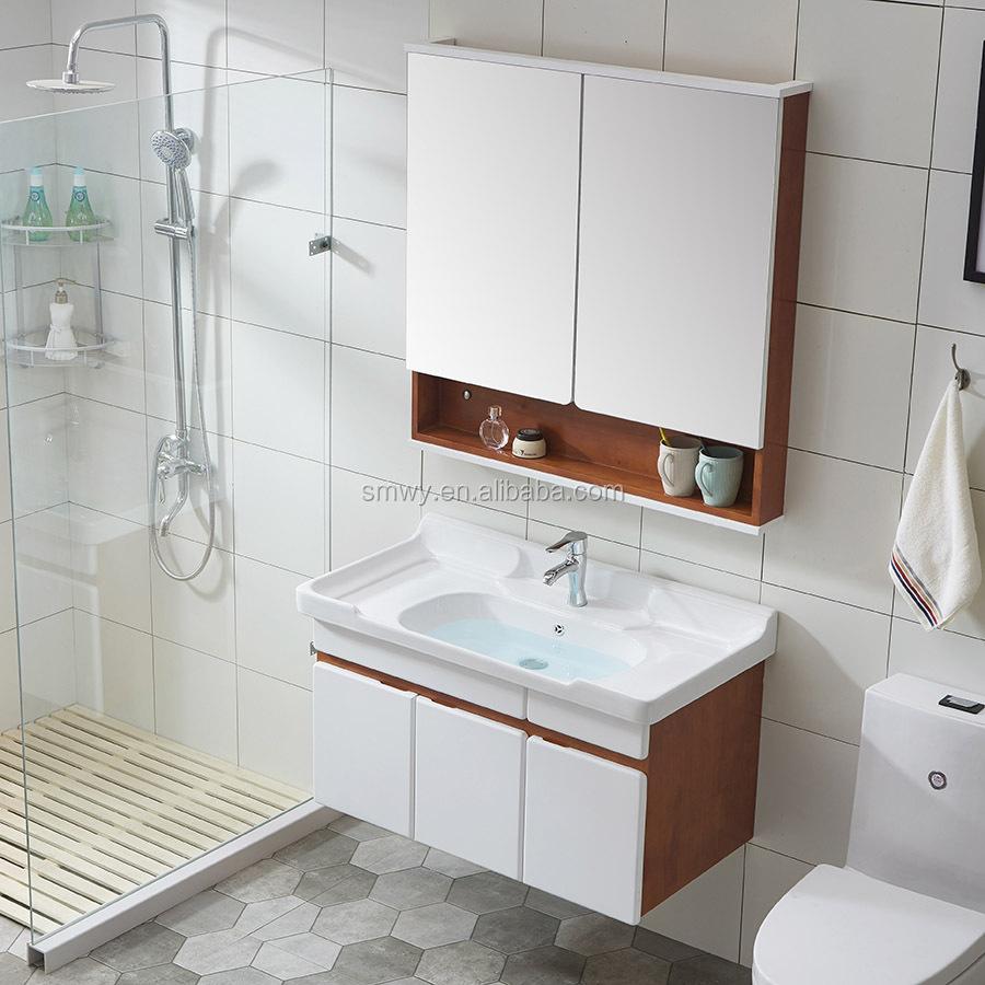 Venta al por mayor diseño de muebles para baños modernos-Compre ...