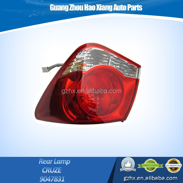Auto Parts 12 Volt Right Rear LED Tail Lamp for CHEVROLET CRUZE 9047831