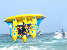 China Cheap Inflatable Fly Fish Banana Boat For Sale