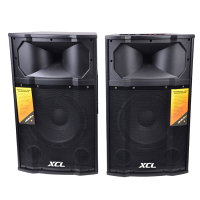 Professional 2.0 active stage speaker system outdoor 10 12 15 inch PA speaker with usb sd