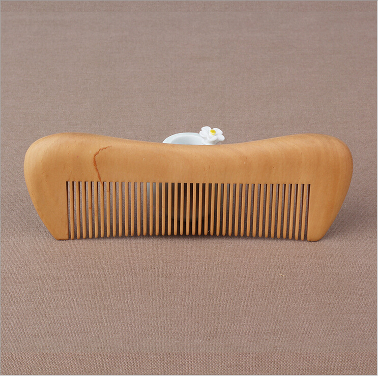 QS brand new fashion and hot selling brands straight hair wooden hair comb