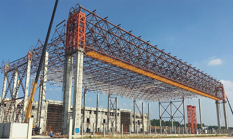 China supplier steel structure buildings and pre-fabricated Guangzhou hangar