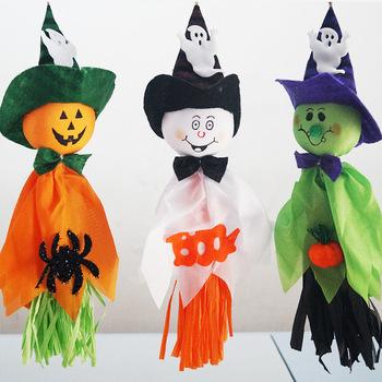Halloween Hantu Menggantung Dekorasi Alat Peraga Labu Menggantung