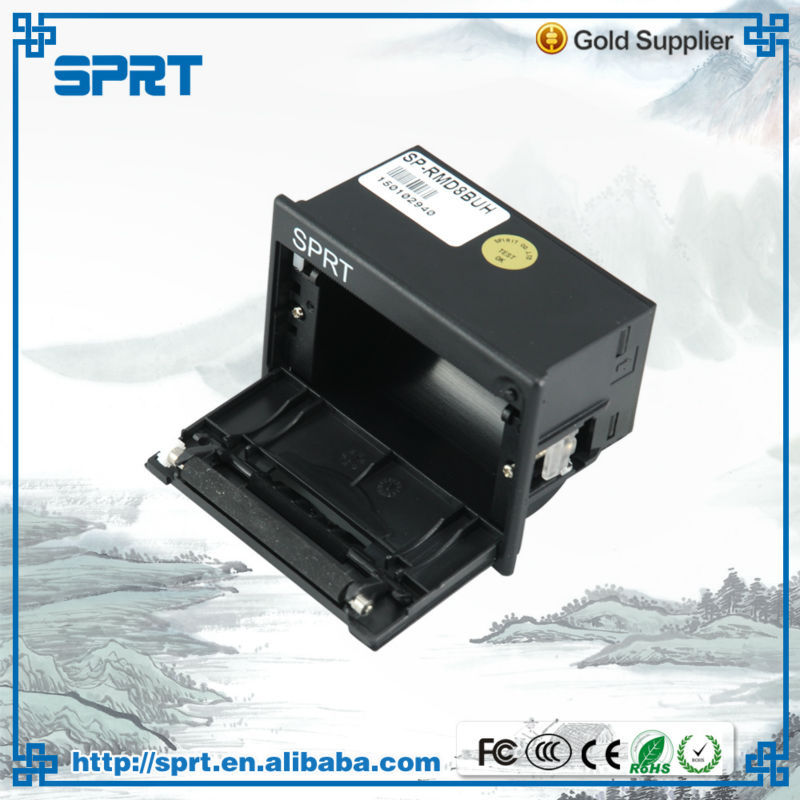 CE RoHS certificate Easy Embedded taxi bill 58mm medical micro panel thermal rs232 printer manufacturer