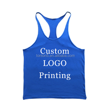 Sublimation dyed gym stringer tank top custom for men