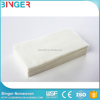 high quality organic white label skin care cleaning dry wipes tissue
