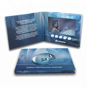 Creative Design LCD Video Brochure Card/ Video Capture Card