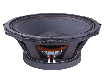 "Pa speaker 18"" sub speaker 2000w rms speakers with 6 inch voice coil"