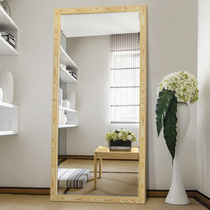 Cheap Price Floor Stand Full-length mirror vintage furniture free standing dressing large antique mirror for bedroom