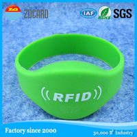 UHF reusable rfid bracelet for access control