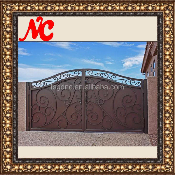 Wrought Iron Front House Gate Designs
