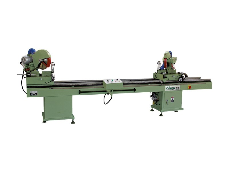 China High Quality Product Double head Precision Cutting Machine for Aluminum and PVC window door