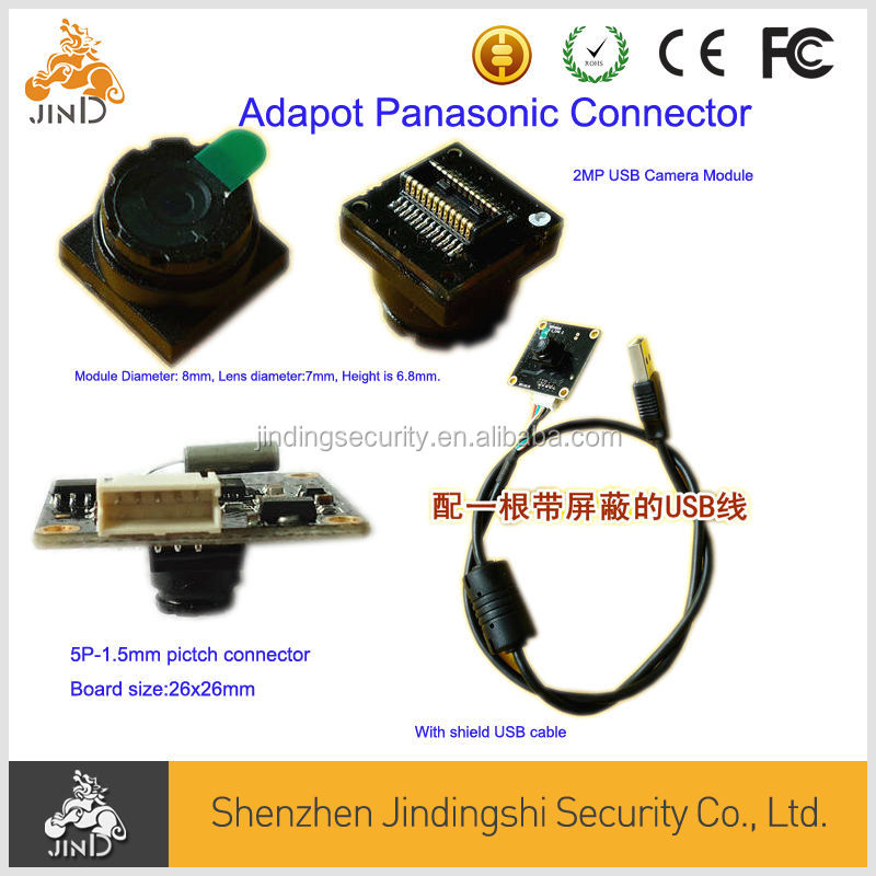 2MP USB Free Driver MJPEG Camera Module support MAX OS, android, Windows,Linux system