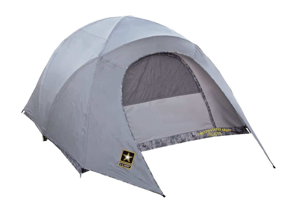 Get Quotations · U.S. Army Brigade 4 Person Tent (Grey and Camo)  sc 1 st  Alibaba : cheap one man tent - memphite.com