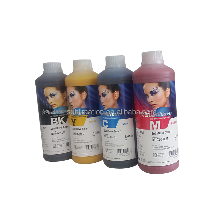 Factory direat supply wholesale price korea subliamtion ink for cotton fabric