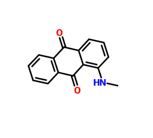 1-(Methylamino)anthraquinone/CAS 82-38-2/Disperse Red 9, Solvent Red 111, Red GL