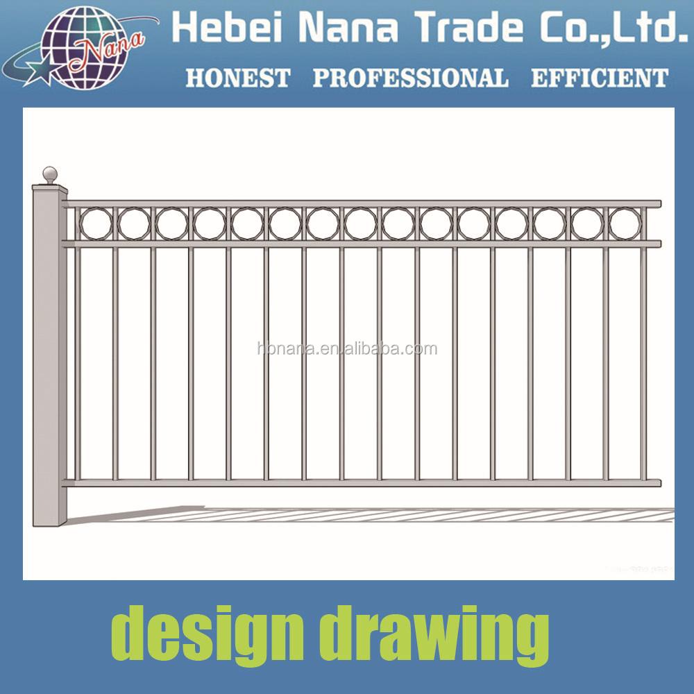 China Supplier For Decorative Iron Gates Models / European ...