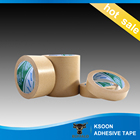 China Manufacturer Free Sample Wholesale High Quality 130mic~160mic Kraft Paper Roll Gummed Craft Paper tape