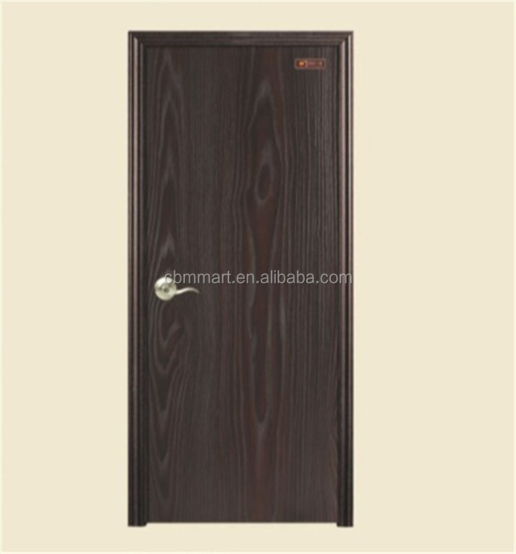 Competitive price high quality pvc interior wooden door