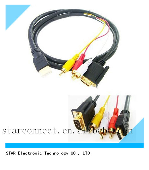 Wholesale factory VGA HDMI wire cable harness DB wire harness