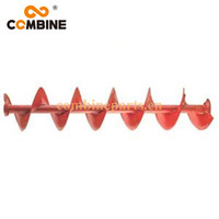 China New Designs Durable Low Carbon Steel Screw Flight