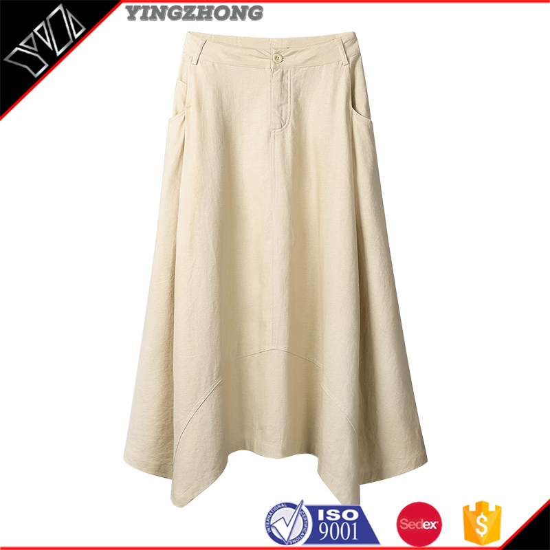 Long skirts in high waist pleated skirt cultivate one's morality show thin solid color joker bust group of twist and skirt