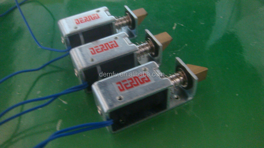 Solenoids For Electronic Appliances (cameras;automatic Door Locks ...