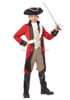 Hot selling boys british army redcoat uniforms costume kids cosplay costumes QBC-6077  sc 1 st  Alibaba & Hot Selling Boys British Army Redcoat Uniforms Costume Kids Cosplay ...