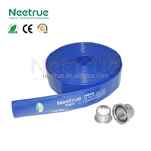 PVC lay flat 3 inch blue hose PVC pipe price