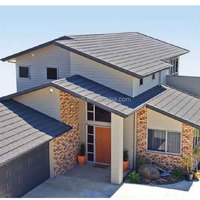 stone coated steel roof tile for roof beautiful house roof