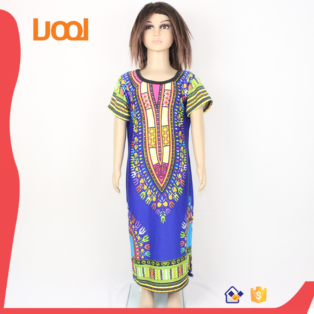 wholesale children's boutique clothing dashiki kids girls dress