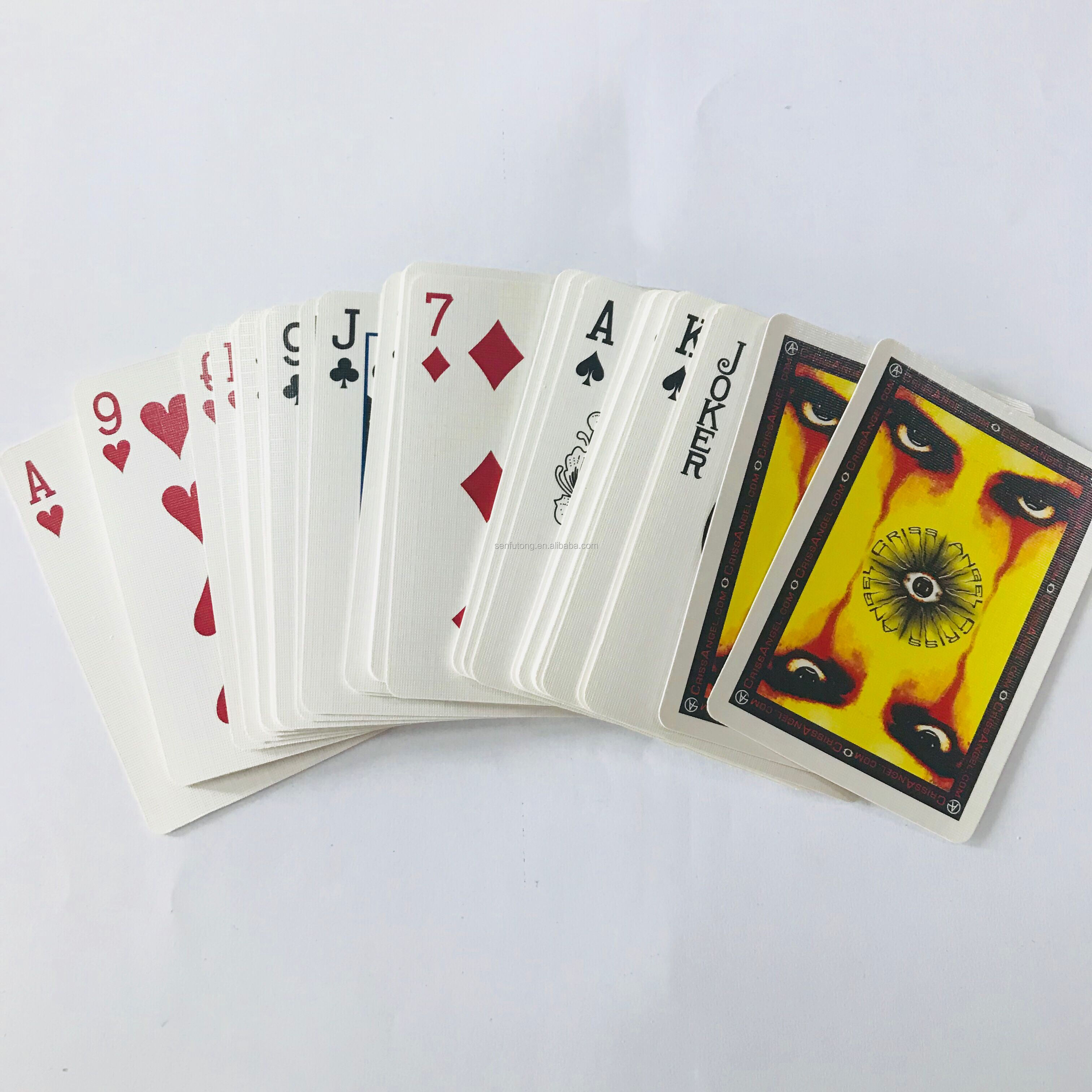 custom playing cards sets with cards made in China