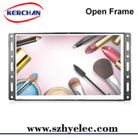 Open frame battery operated digital photo frame/small advertising player
