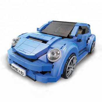 Super September XingBao New Genuine Creative MOC Technic Series The Beetle Car Set Children Building Blocks Bricks Toys