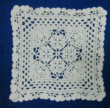 Crochet Cotton Square Coaster Doilyplacematrectangle Buy Cotton Mesmerizing Cotton Crochet Patterns