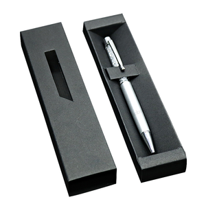 Presentation cardboard empty cross pen box
