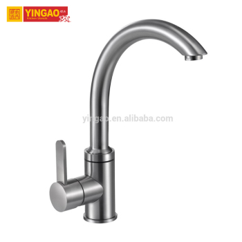 Hot sale modern upc flexible single handle kitchen faucet