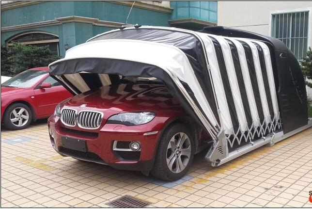 Voiture tente de stationnement pas cher portable garage for Tente garage auto