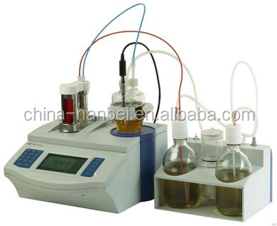 Coulometric method titration moisture analysis karl fischer titrator